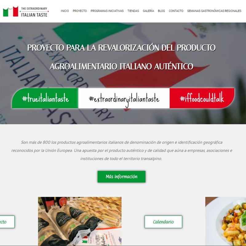 100% Auténtico – True Italian Taste